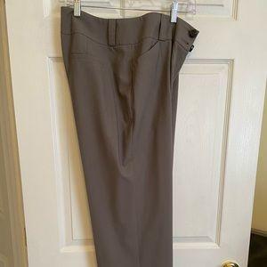 Talbots straight leg wool blend pants
